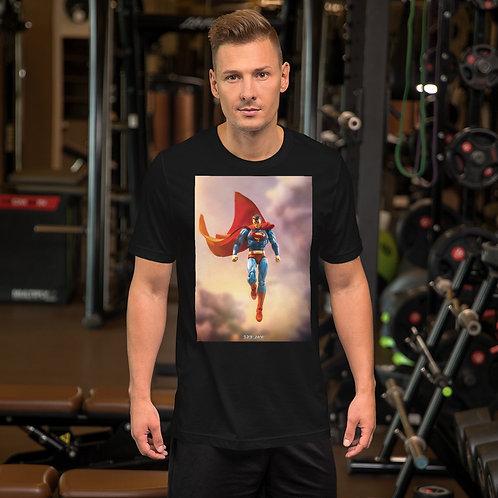 Man of Tomorrow by Jerry Kusjanto-Short Sleeve Unisex T-Shirt