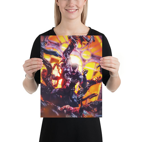 Venom Wins by Jerry Kusjanto- Size 12 x 16 inches