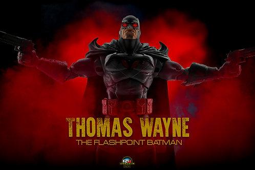 Thomas wayne Batman 4k with smoke (size 3840x2160mp)