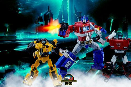 Transformers Optimus Prime Widescreen (size 3840x2160mp)