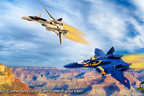 Macross Plus. Come on Guld (size 1920x1080mp)