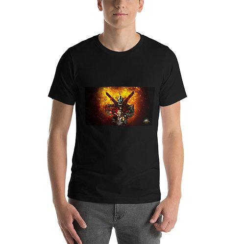 Voltron Flames of Destruction Short-Sleeve Unisex T-Shirt