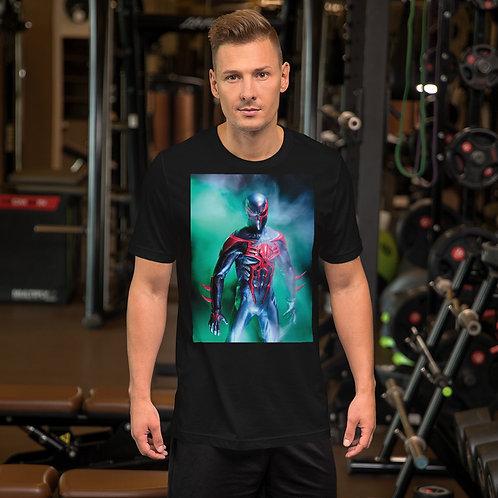 Spiderman 2099 by Aldo Farfan-Short Sleeve Unisex T-Shirt