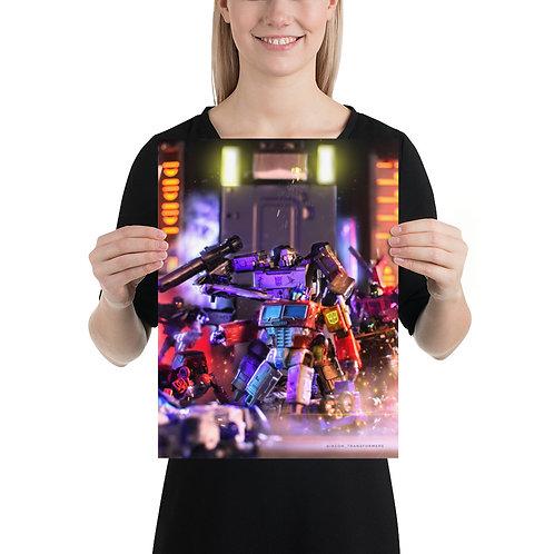 Surrender Optimus by Harsha Kiriti Kopalley- Size 12 x 16 inches