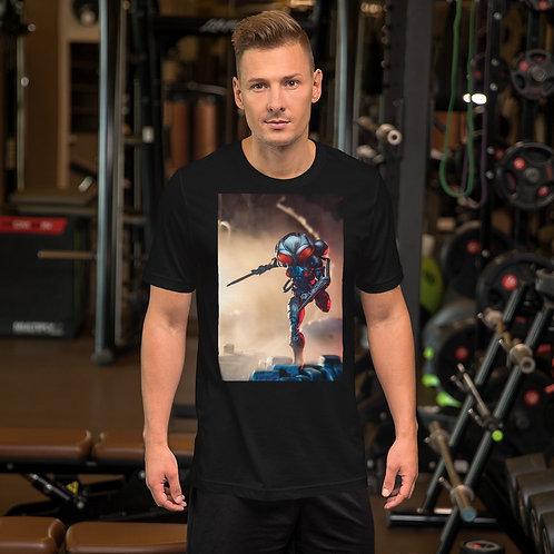 BlackManta Run by Firdaus R-Short Sleeve Unisex T-Shirt