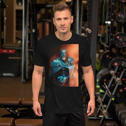 Batman by Aldo Farfan-Short Sleeve Unisex T-Shirt