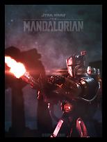 The Mandalorian Heavy Infantry Mando Pos