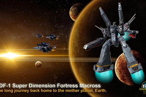 SDF-1 Super Dimension Fortress Macross (size 1920x1080mp)