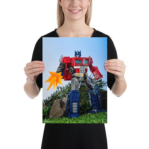 Optimus Prime BAM by Tim Nichols- Size 12 x 16 inches