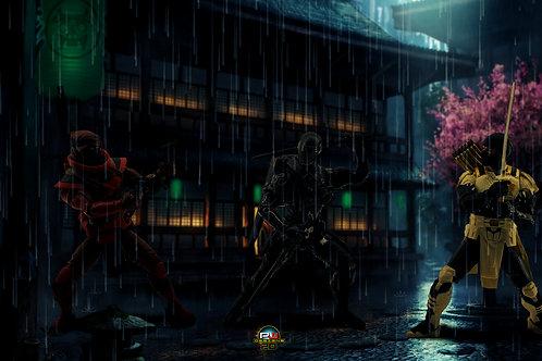 Ninja Battle (size 3840x2160 mp)