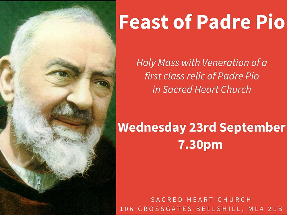 Feast of Padre Pio