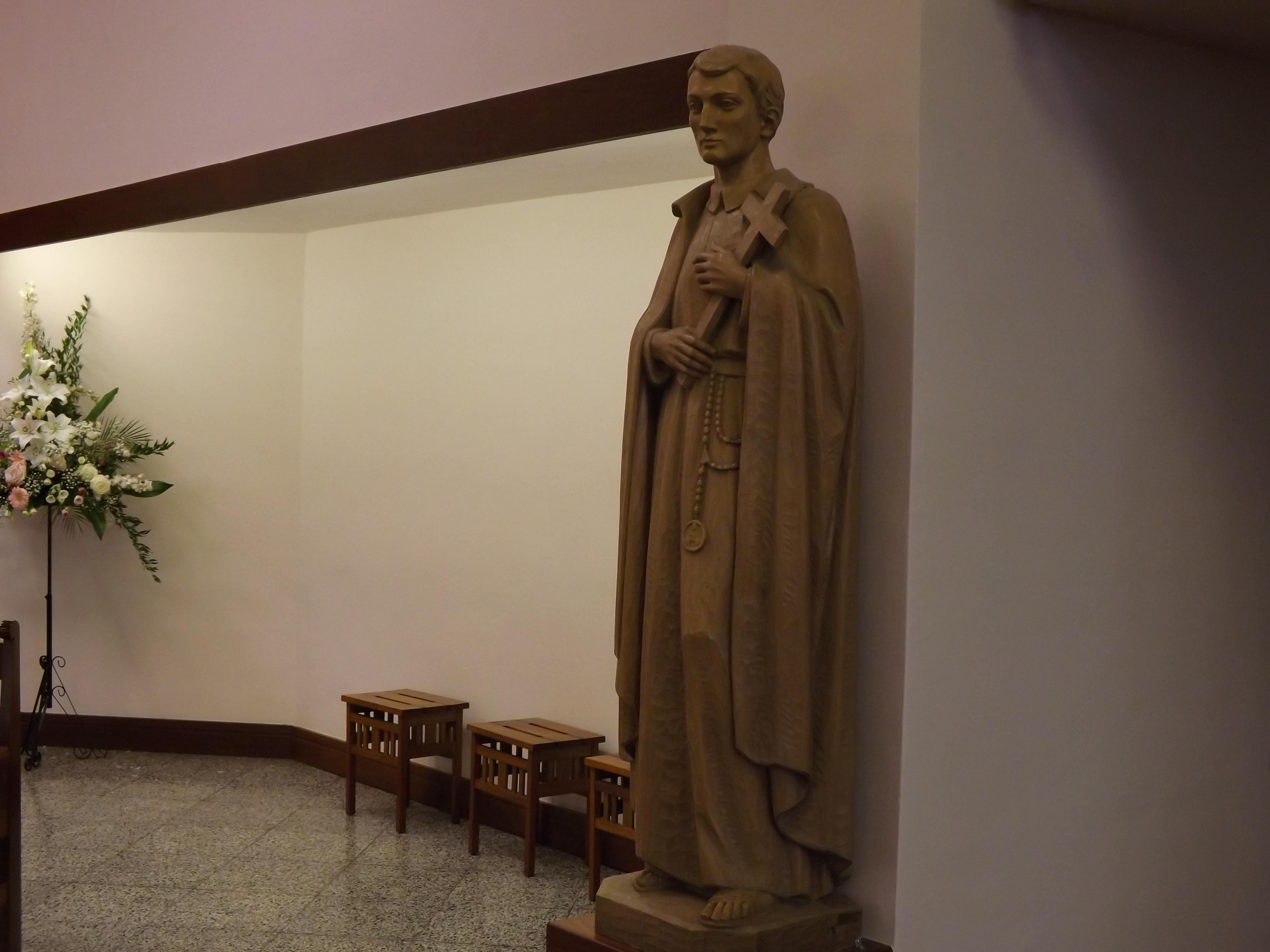 Statue of St Gerard Majella
