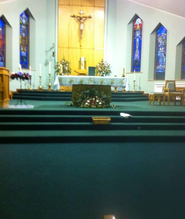 Christmas Mass in Sacred Heart