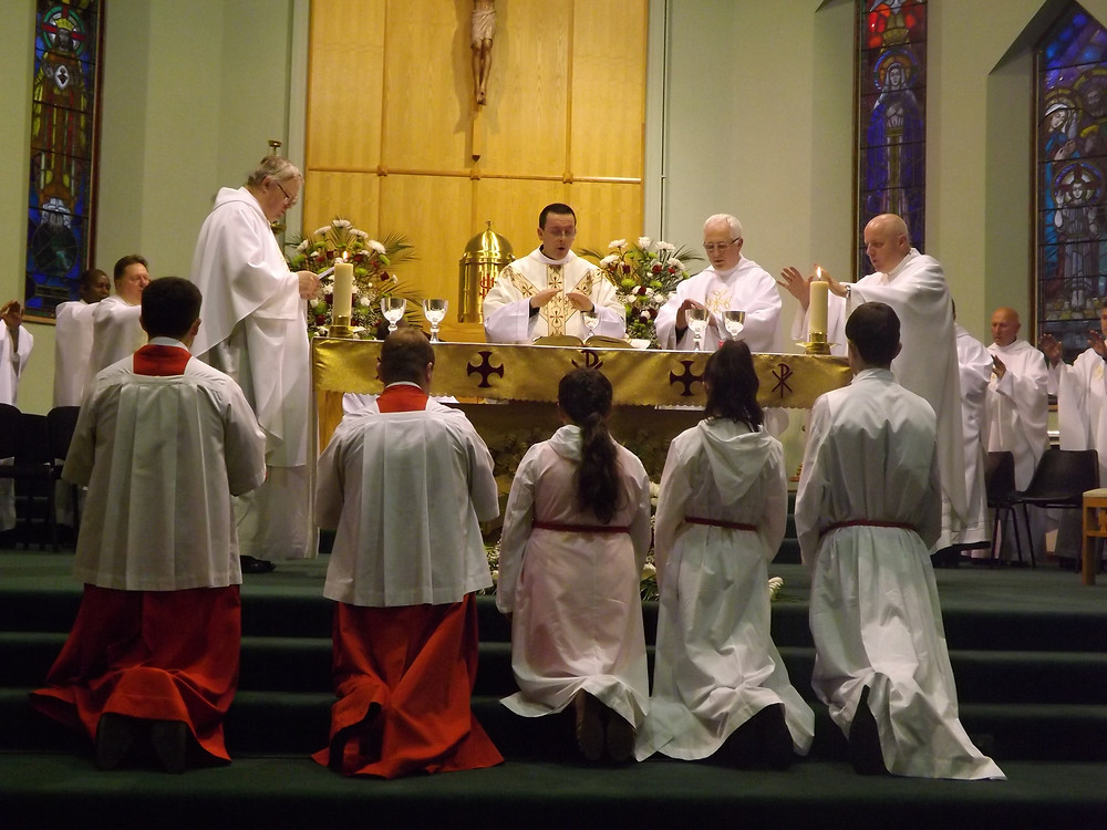 Father Travers first Mass