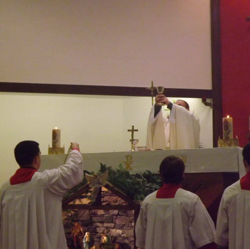 Christmas Day Mass in St Gerard's