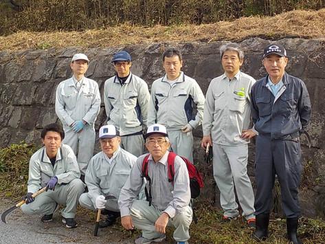 「旧玉名干拓施設(明丑・末広潮受堤防)の草刈り清掃活動」に参加しました。
