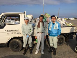 「大浜漁港清掃」に参加しました。