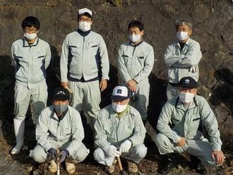 「旧玉名市干拓堤防(明豊・大豊潮受堤防)の草刈り清掃活動」に参加しました。