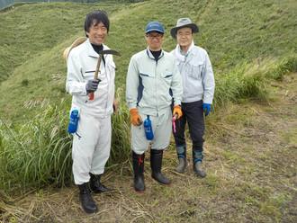 『水源かん養林「水土里ネットの森」』下草刈りに参加しました。