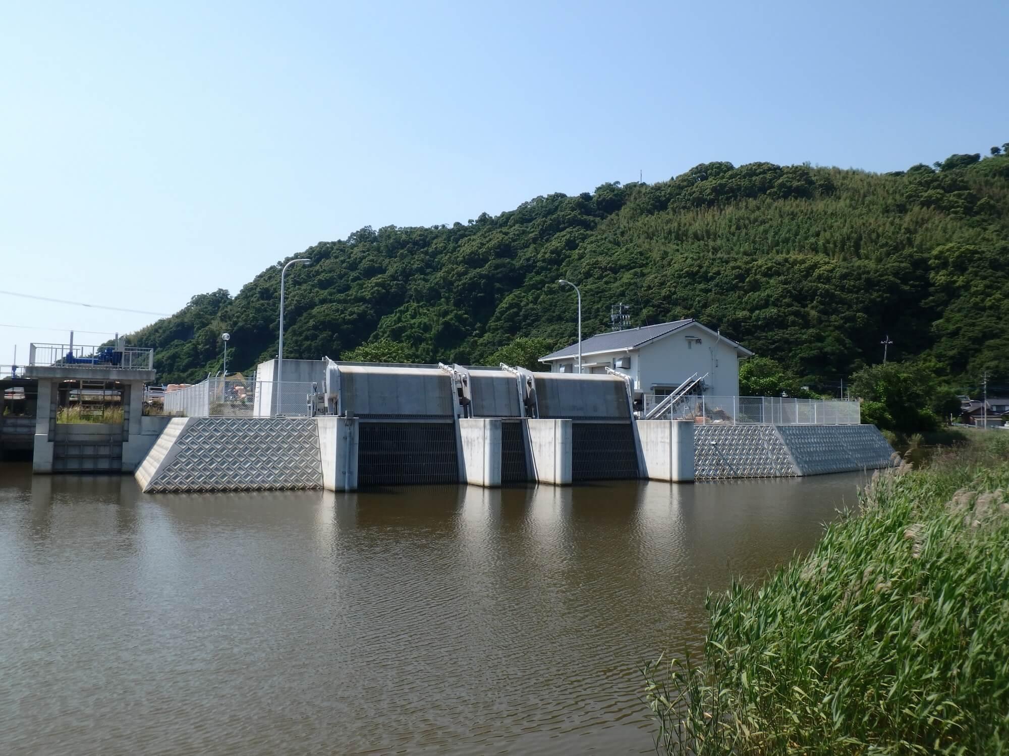 梅洞地区排水機場②