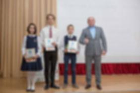 Лицей 35 им. Буткова В.В. | Награждение лауреатов и победителей