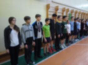 Лицей 35им. Буткова В.В. | Военно-спортивня эстафета 9 класс