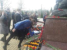 Лицей 35 им. Буткова В.В. | Митинг, посвященный 74 годовщине штурма Кёнигсберга