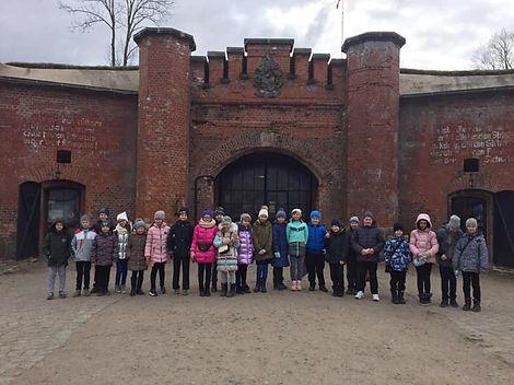 Лицей 35 им. Буткова В.В. | Экскурсияна форт № 11 «Дёнхофф»
