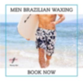 Men Brazilian waxing