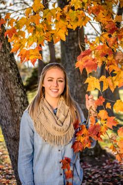 WV Fall Senior picture