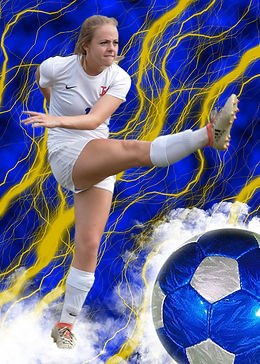 Soccer action sports