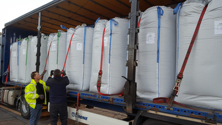 Another successful ADvance Biochar Delivery arrives in Oxfordshire
