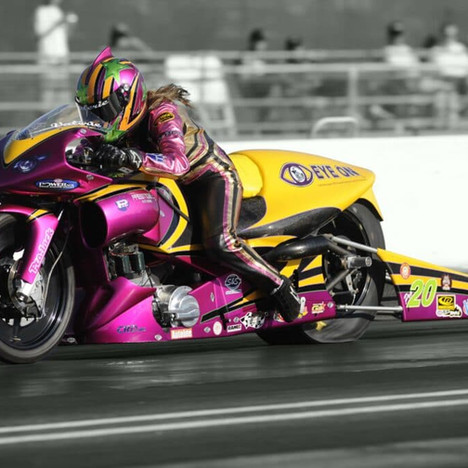 World's Fastest Female Motorcycle Racer