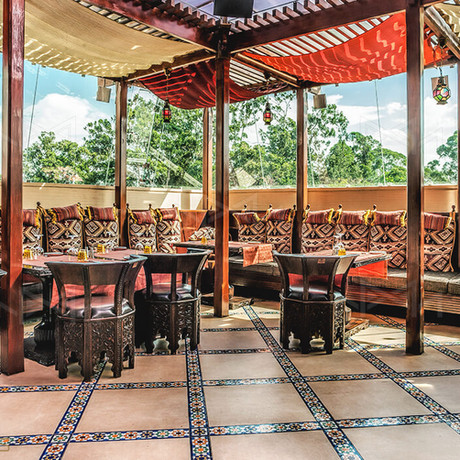 Moroccan Rooftop Restaurant