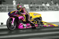 Valerie Thompson NHRA Pro Stock Motorcycle
