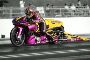 Valerie Thompson NHRA Pro Stock Motorcycle