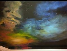 Galaxy mural