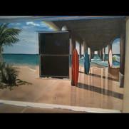 Surf mural