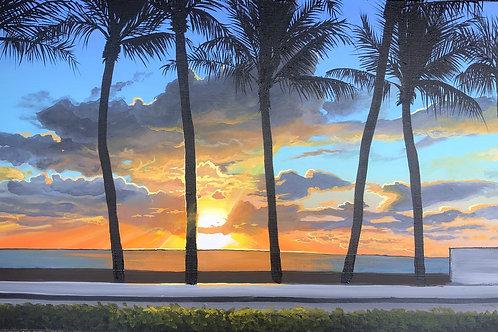 Sunrise in Palm Beach
