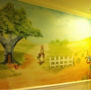 Beatrix Potter mural