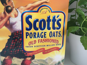 The Scott's Porage Oats Man and I...