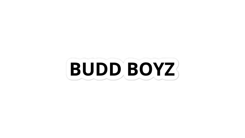 BUDD BOYZ Bubble-free stickers