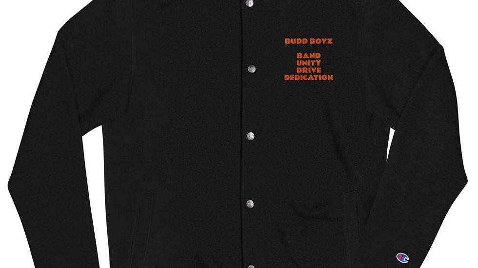 BUDD BOYZ Embroidered Champion Bomber Jacket
