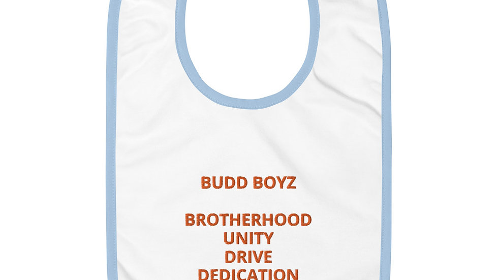 BUDD BOYZ Embroidered LIL'Bib