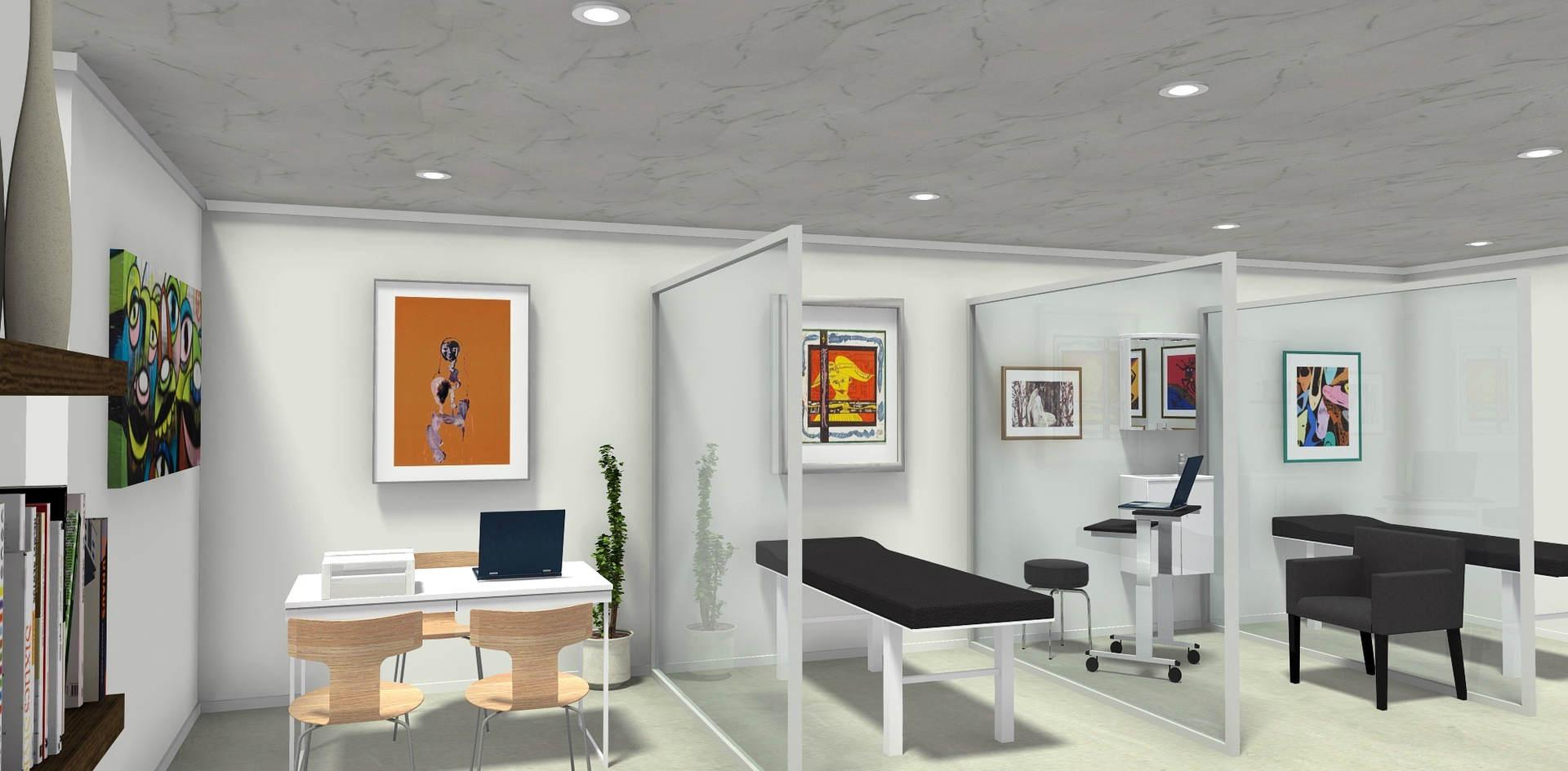 #GRAMOM Client Service Spaces @NanaMoDixon's HomeOffice Laurel, Maryland