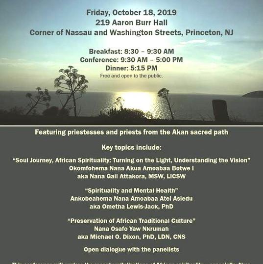 Poster Invitation to Princeton 2019