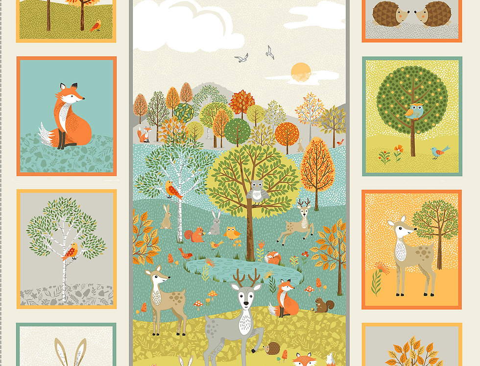 Forest Animals Panel