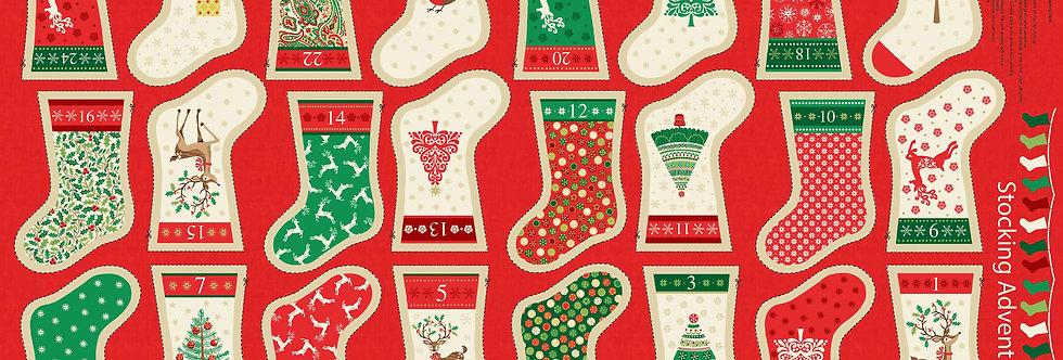 Decorative Mini Stockings Panel
