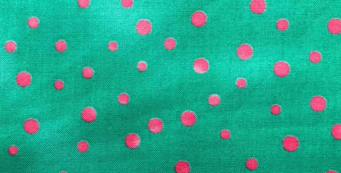 Spots Pink/Green