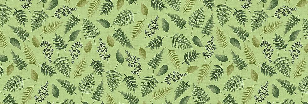 Leaf Scatter Green